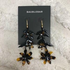 NEW BaubleBar Jasmine Flower Drop Earrings